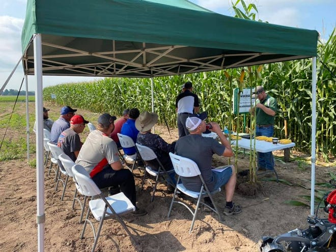 Pioneer by Corteva™ in collaboration with Swiderski Equipment inc., Precision Planting and White Planters set up a trial in North Central Wisconsin comparing planter and non planter agronomics on corn and soybeans for 2020.