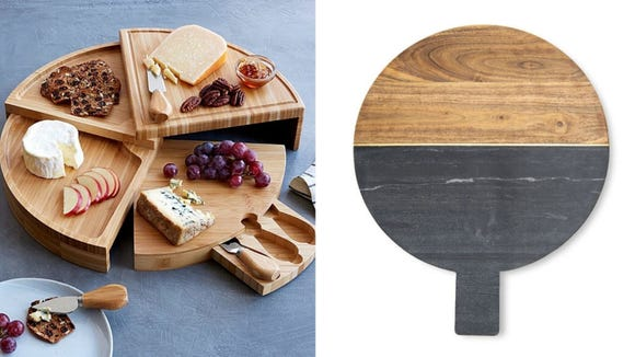 Best Wine Gifts 2020: Charcuterie and cheese serving boards