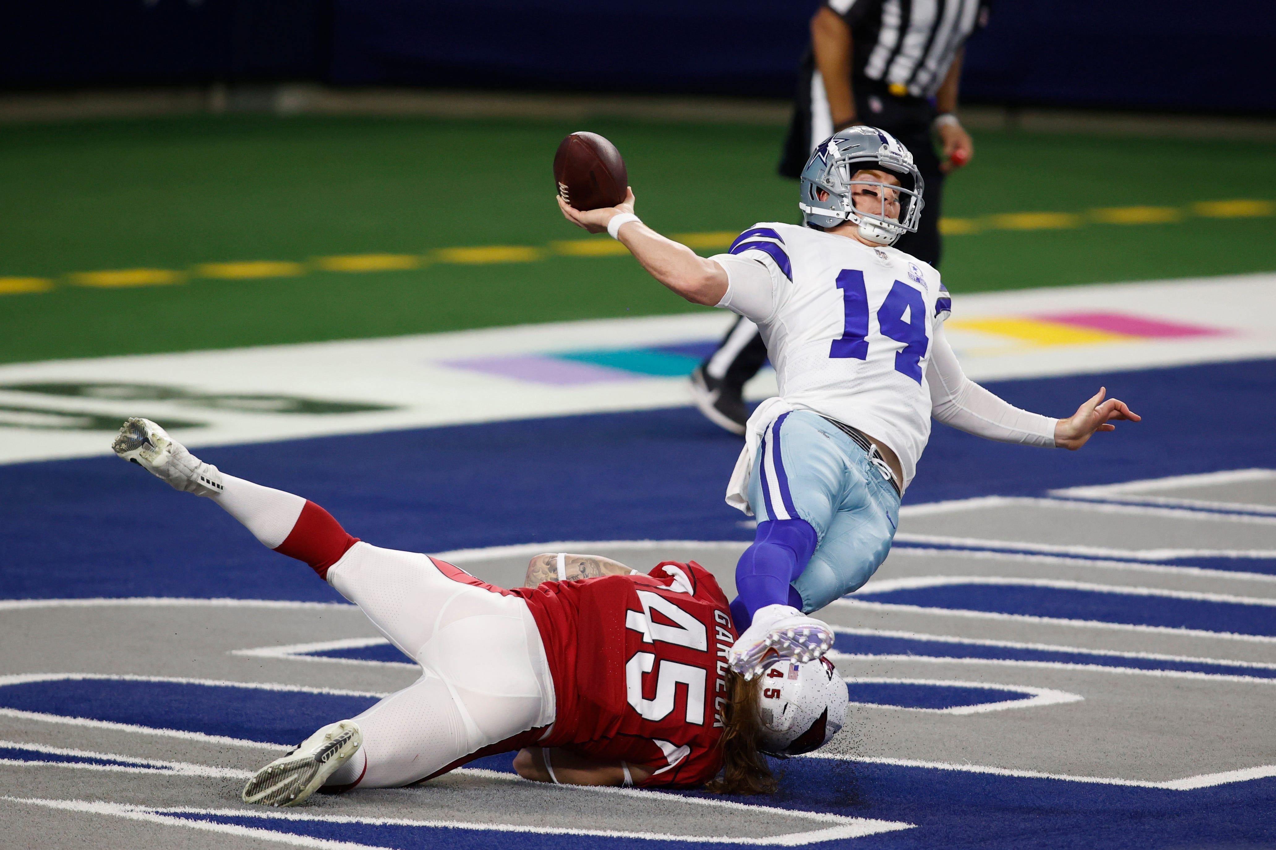 Cowboys owner Jerry Jones laments  glaring difference  between Dak Prescott, Andy Dalton