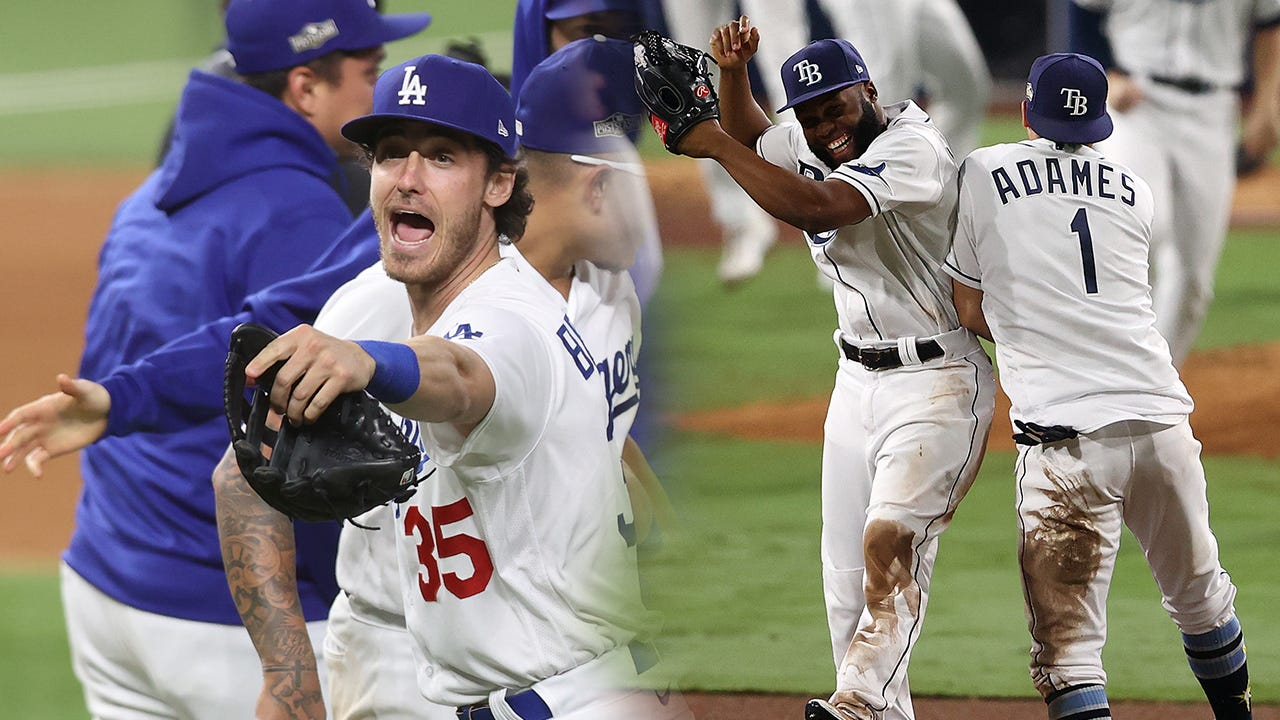 Dodgers rout Rays behind two homers in Game 1 of World Series