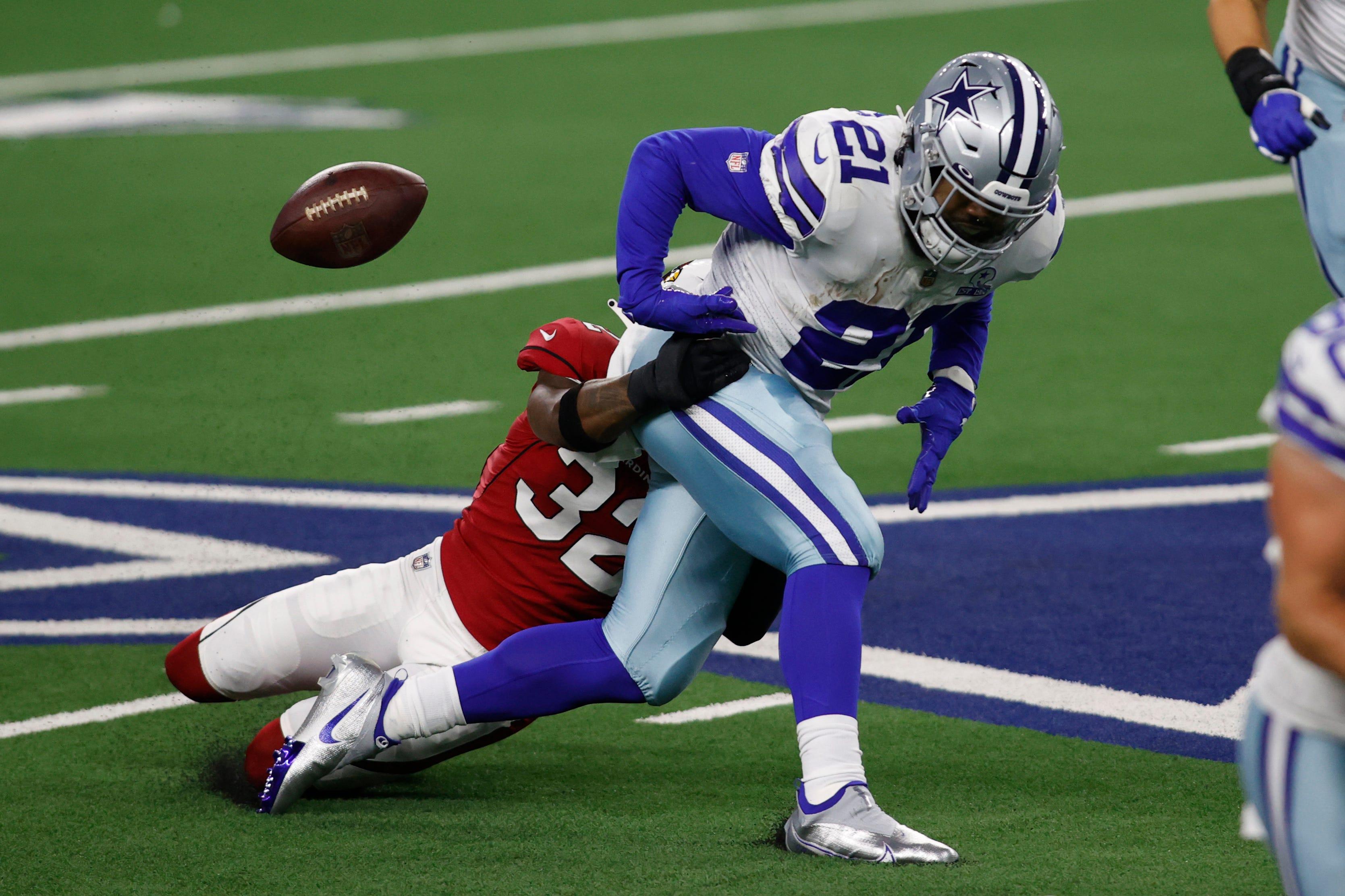 Ezekiel Elliott takes blame for fumbles, Cowboys' blowout loss: 'I want to say I'm sorry'