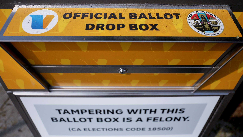 California ballot drop box set ablaze in possible arson, damaging up to 100 ballots