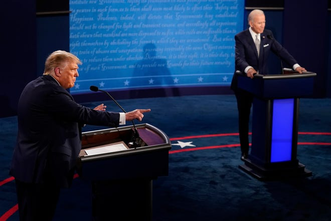 Trump Biden Debate Comes After Commission Vows To Cut Microphones