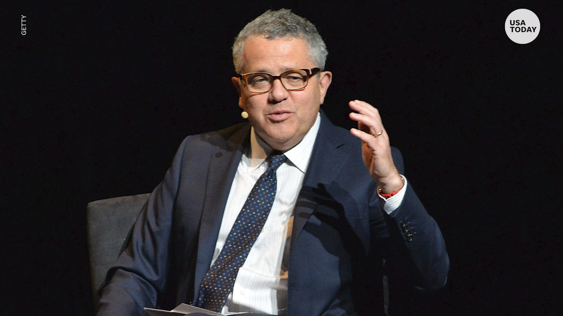 Jeffrey Toobin has been suspended from the New Yorker while nude Zoom call is investigated