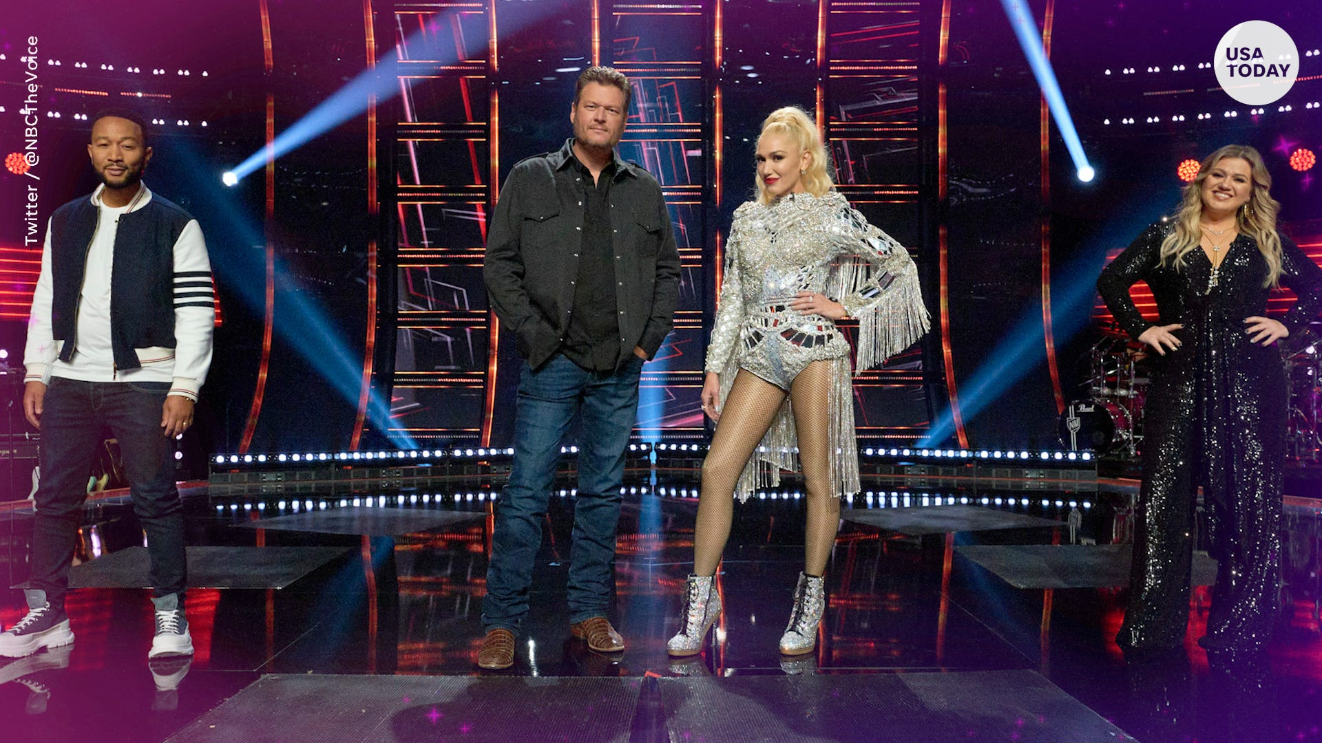 Virtual fans, block buttons, Blake Shelton's thoughts on red sauce... 'The Voice' returns
