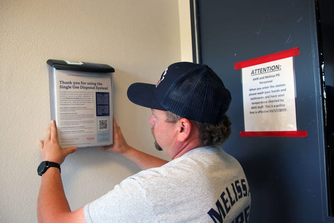 SUDS drug disposal pouches can be obtained at the Melissa Fire Station.