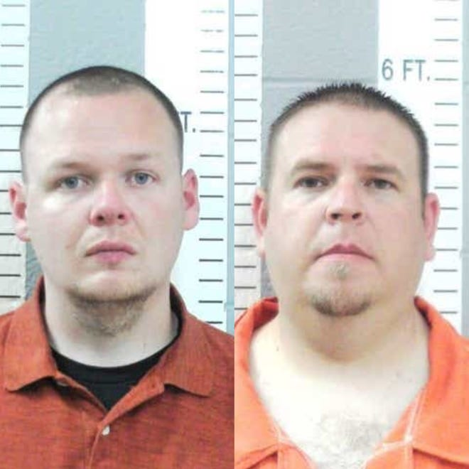 Joshua Taylor (right) and Brandon Dingman (left)