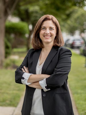 Christina Finello is seeking to become the first woman to represent the 1st Congressional District.