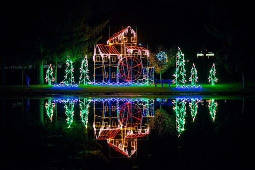 The Columbiana Area Tourism Bureau's Joy of Christmas Light Show 2020 will open Nov. 19 at Harvey S. Firestone Park, 338 E. Park Ave., Columbiana, Ohio.