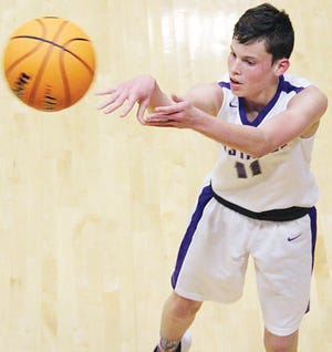 Clayton Holley returns as a senior to this year's Wesleyan Christian boys basketball team. He averaged double-figure scoring last year.