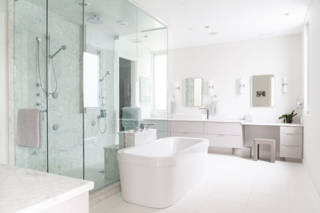 Replacing an old, outdated look is the biggest reason homeowners remodel bathrooms.