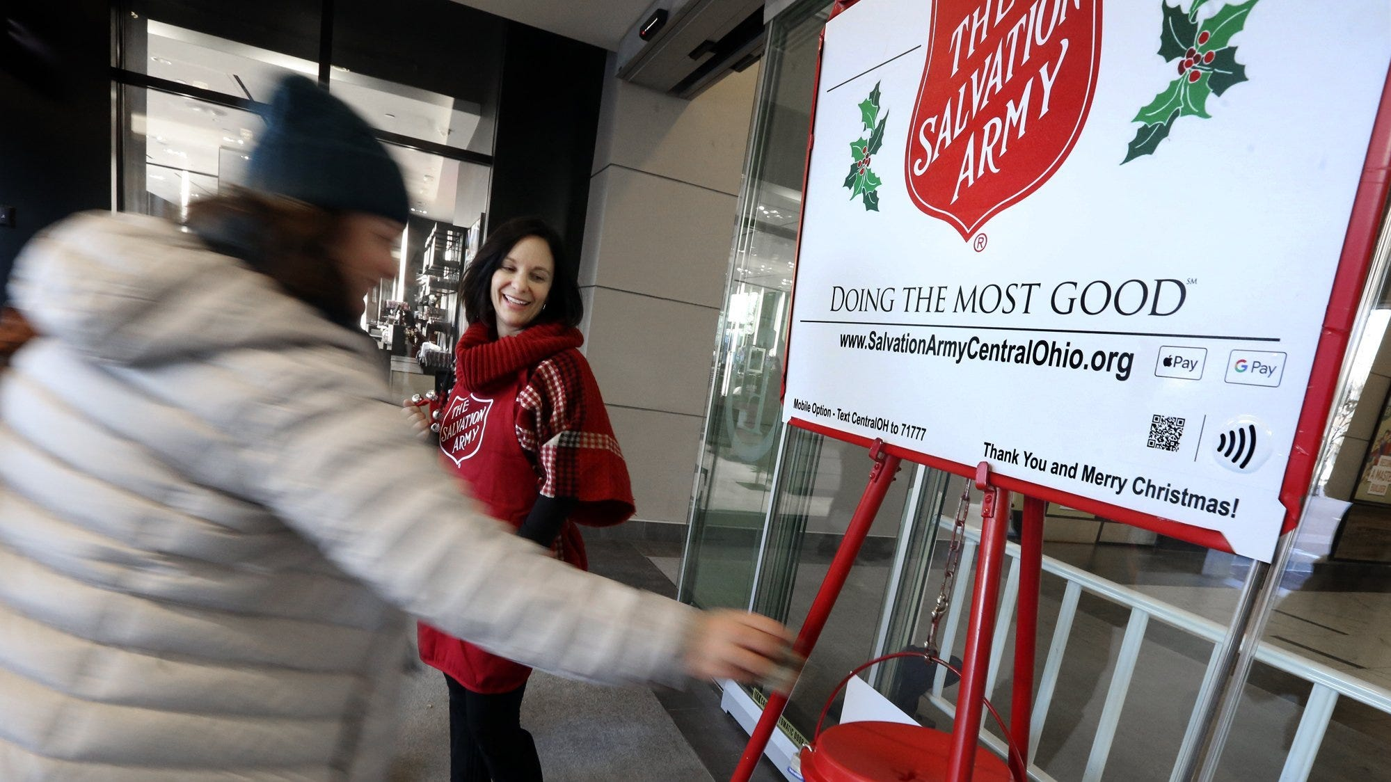 Salvation Army ringing Christmas bells early due to effect of COVID-19