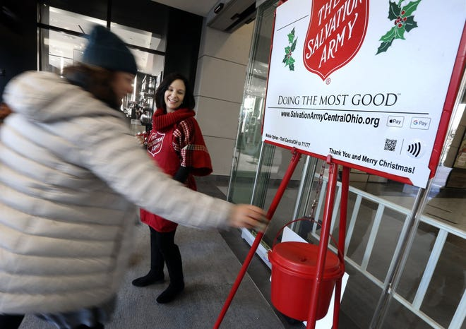 In central Ohio and nationwide, the Salvation Army is starting its iconic Christmas fundraising campaign early because of the COVID-19 outbreak's likely effect on holiday activity.