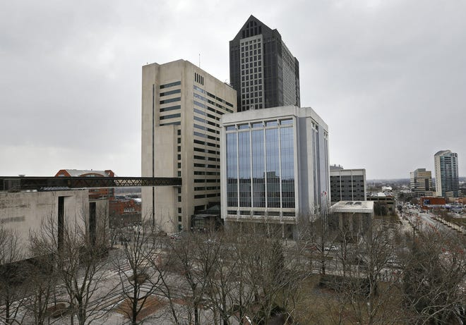 Franklin County Government Center in downtown Columbus