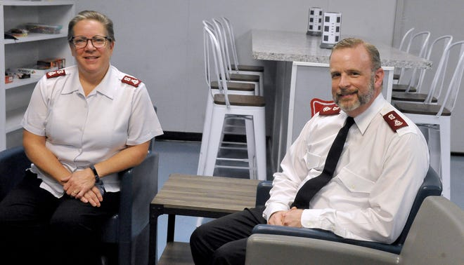 Wooster Salvation Army Majors Connie and Tim Higgins arrived in Wooster in August.