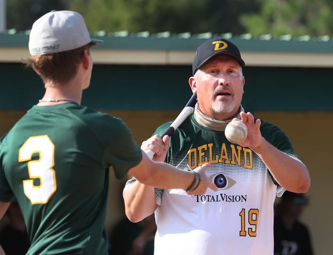 Tim Ballesteros resigned as DeLand High's baseball coach Friday. The Bulldogs have a 2-14 record this season, and are on a nine-game losing streak.