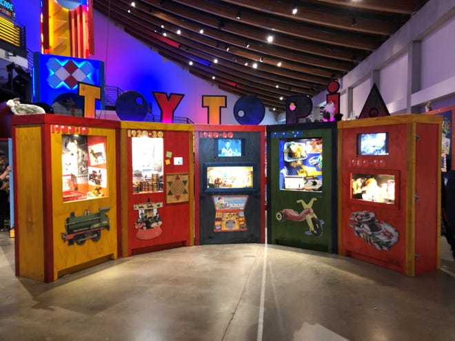 Toytopia is on display at Jacksonville's Museum of Science nd History.