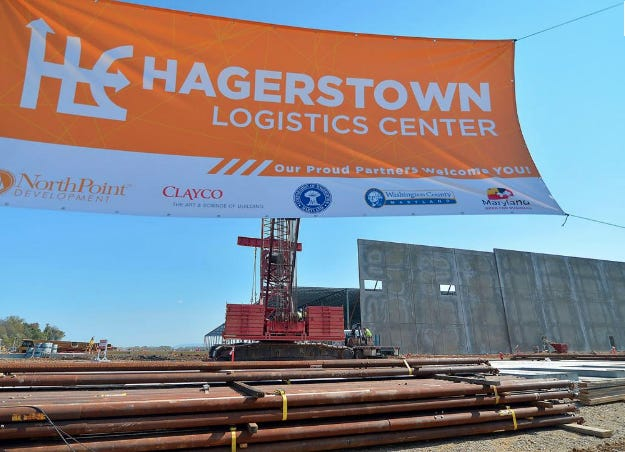 Amazon plans to open a state-of-the-art fulfillment center in the Hagerstown Logistics Center, part of the NorthPoint Development.