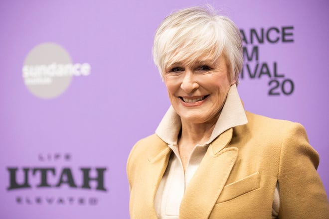 Glenn Close, shown at the Sundance Film Festival in January, will receive an honorary AARP award for her work with a charity that brings awareness to mental illness.