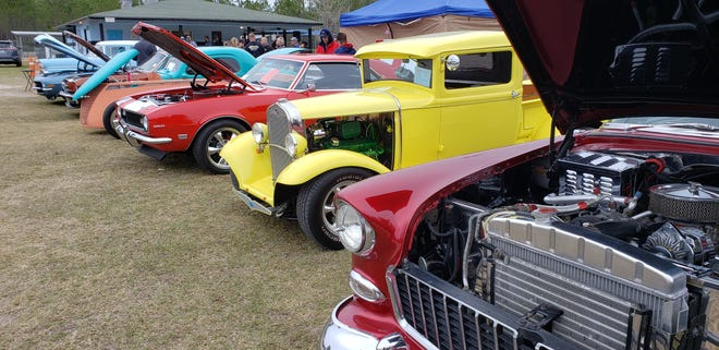 A fall car show last year.