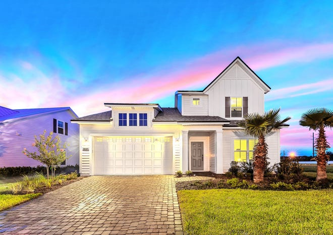 In addition to its acquisition of H&H Homes, a North Carolina-based builder, Dream Finders Homes is building more new homes in St. Johns and Nassau counties. Shown is 436 Marsh Cove at Seaside Vista, a luxury community just south of Guana State Park.
