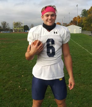 New Hope-Solebury senior quarterback Phil Weinseimer, who missed all of last season due to injury, is back at the helm.