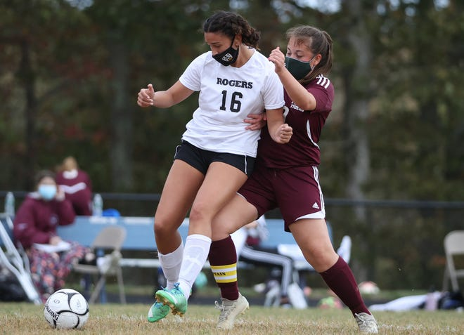 Frankie Underwood helped the Rogers girls soccer team pick up its first point of the season.