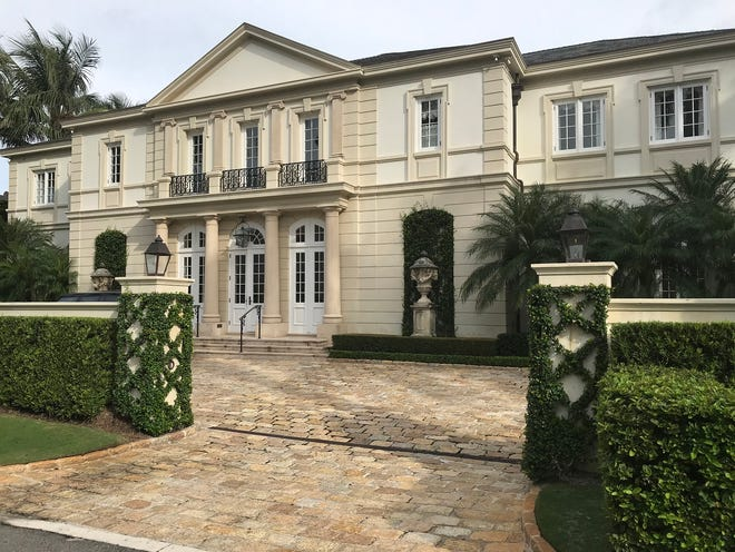 A land trust has paid a recorded $20.75 million for the home of Mark and Mary Freitases at 201 El Vedado Road in the Estate Section. Completed in 2006, the house was developed on speculation, records show.
