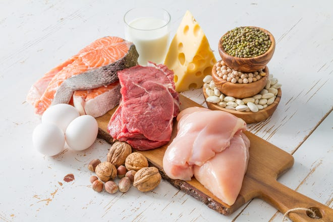 Protein intake appropriate for the type and extent of injury/surgery can trigger muscle repair and maintenance, improve insulin sensitivity, and speed healing. Ideally, the protein should come from high quality sources (poultry, fish, lean meat, eggs, dairy, soy).