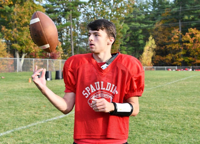 Spaulding High School quarterback Danny Fogarty is making the most of his first year as a varsity starter. The 5-foot-8 senior has the Red Raiders off to a 2-1 start in D-I East.