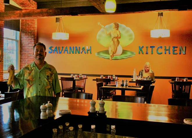Chris Caddy, owner of Savannah Kitchen, wanted to bring innovative Cajun- and Creole-inspired cuisine to the Seacoast.