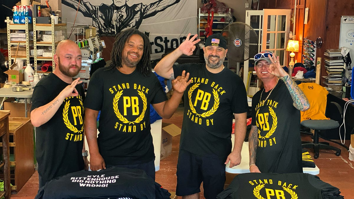 "West Palm Beach Proud Boys leader: Trump bump "" awesome\"""
