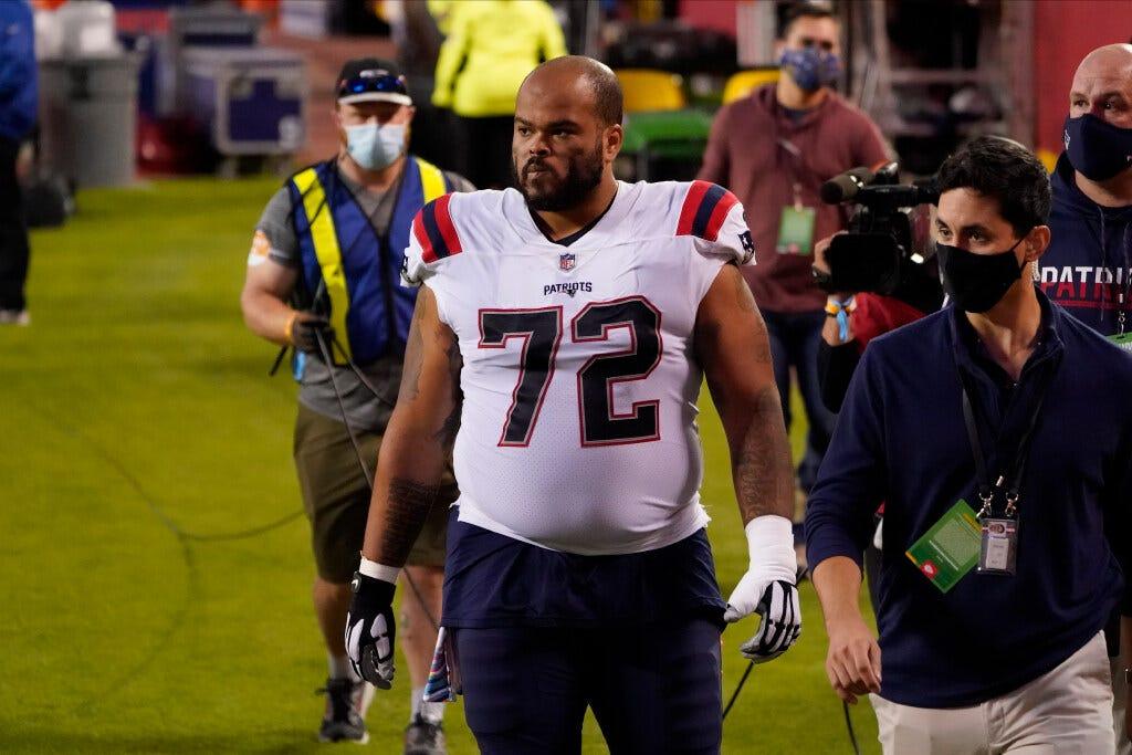 Patriots OL Jermaine Eluemunor was placed on injured reserve