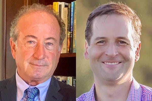 Andy Mele, left, and Will Robinson are running for Florida House District 71.