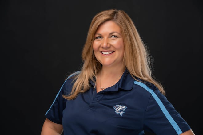 Alyson Smist, Assistant General Manager of the Wilmington Sharks, at Buck Hardee Field in Wilmington, N.C., Thursday, July 23, 2020. Smist is one of the 40 Under 40 honorees for 2020.