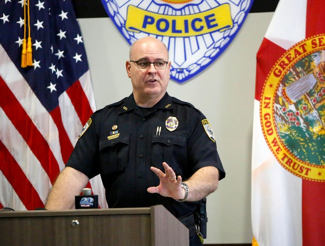 Jorge Campos, chief inspector of the Gainesville Police Department, has been chosen to be police chief in Clemson, South Carolina. He's been with GPD for 28 years.