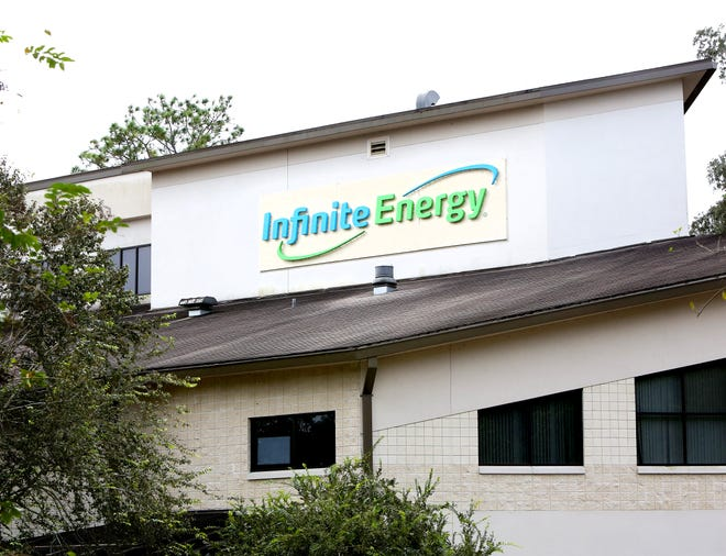 Infinite Energy, which provides retail and wholesale energy in areas where customers can choose their own providers, is being sold to Atlanta's Gas South, company officials announced. Infinite Energy is at 7001 SW 24th Ave. in Gainesville.