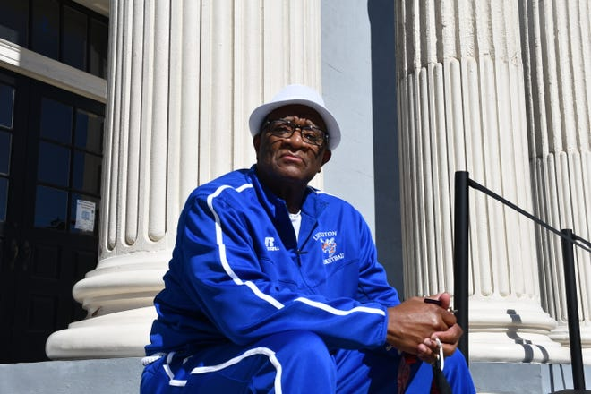 Lexington resident Tyrone Terry will lead a history walking tour during the June 19 Juneteenth Freedom Celebration event. Terry will show where he and a friend were shot by a white man when he was 15 in downtown Lexington for supposedly 'bumping into him.'