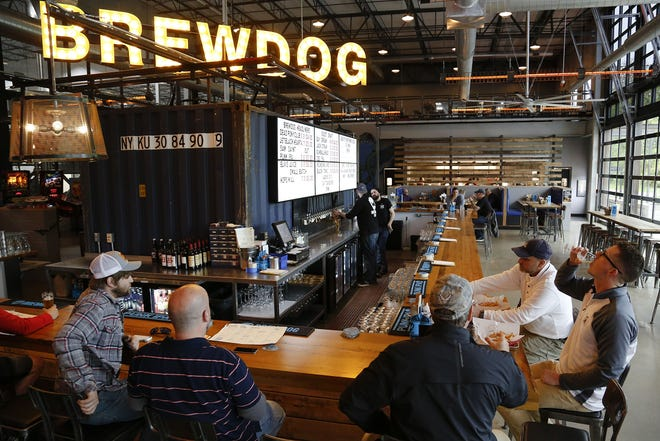 BrewDog Brewery and Taproom, 96 Gender Road in Canal Winchester, is on its way to becoming the first carbon-negative international beer business. By the end of next year, the brewery is expected to have solar panels powering its central Ohio campus, including the 32-room DogHouse hotel, and a delivery fleet of electric vehicles.