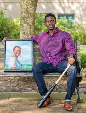 Chris Singleton, whose mother Sharonda Coleman Singleton, was murdered in the Charleston, South Carolina racially charged mass shooting at the Mother Emanuel AME Church in 2015, has been traveling the country speaking to organizations over the last few years with a message of love and forgiveness.
