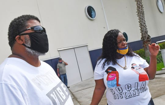 An October 21st cruise workforce rally was held by the International Longshoreman's Association and other workers at Port Canaveral's in front of Cruise Terminal 1. They are rallying to get the CDC to let let the No Sail Order to expire and let the cruise industry start up again.