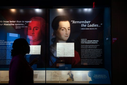 Inside the Museum of the American Revolution in Philadelphia, Pa. on Tuesday, Oct. 20, 2020.