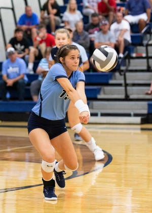 Adena junior Camry Carroll was selected as the Scioto Valley Conference Defensive Player of the Year. She helped lead the Warriors to a conference championship.