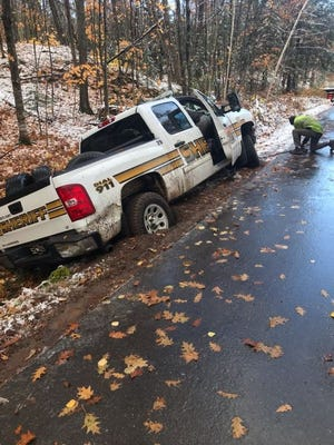 A Marquette County Sheriff reported his Chevy Silverado. It was found later in a ditch.