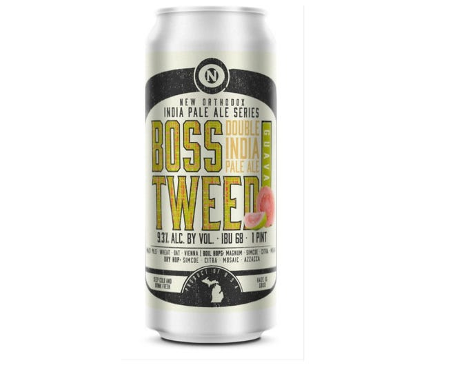 The Guava Boss Tweed, by Old Nation Brewing Co., will be available in late October in 4-packs of 16-oz. cans.