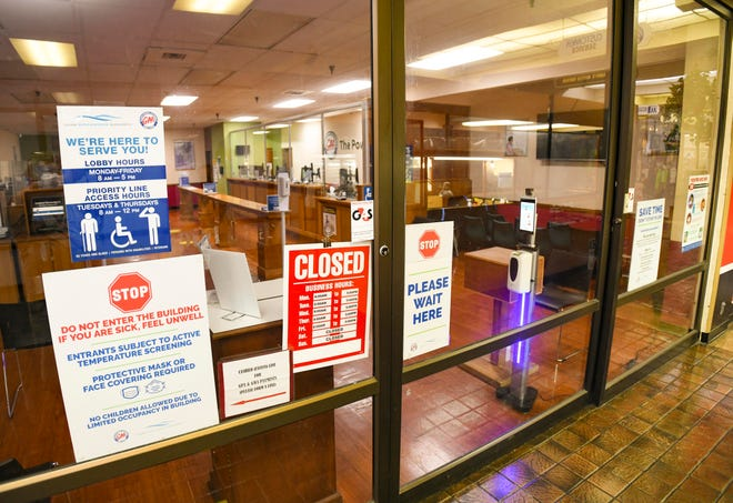 The Guam Power and Waterworks Authority customer service lobby, at the Julale Shopping Center in Hagåtña, was closed for services on Wednesday, Oct. 21, 2020. The satellite office was closed for deep cleaning and disinfection, after an employee assigned to the location, had tested positive for COVID-19. The service lobby as well as the GPWA Fadian service lobby and drive-through payment window, located at the Gloria B. Nelson building in Mangilao, were also closed for deep cleaning, according to a GPA release.