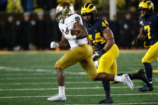 Notre Dame Football Player Leaves Team To Address Mental Health