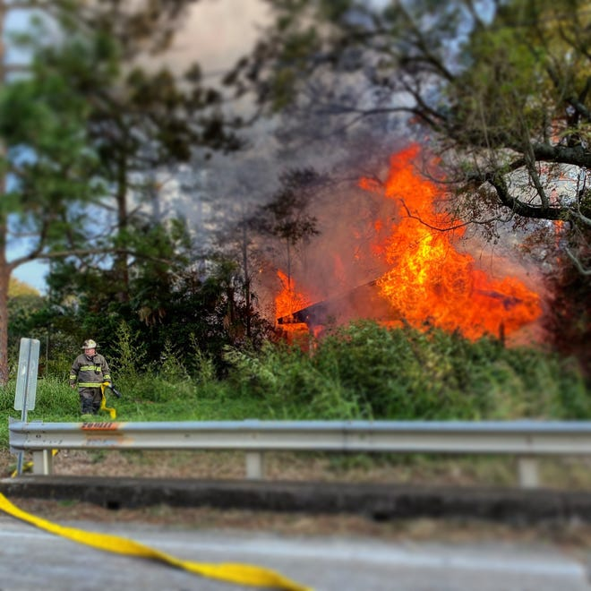 A residential fire that occurred Sunday in the 500 block of Pecan Grove Road in Scott has been ruled an arson.