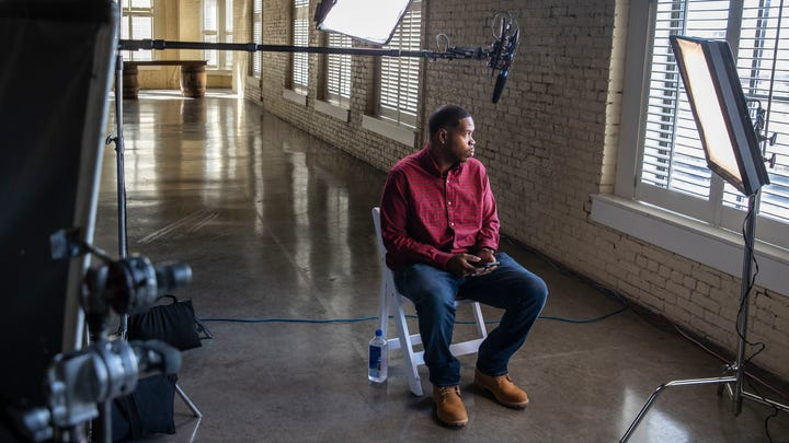 Kenneth Walker, boyfriend of the late Breonna Taylor, speaks to ABC News and the Courier Journal about the night that Taylor was shot and killed by Louisville police officers. Oct. 21, 2020
