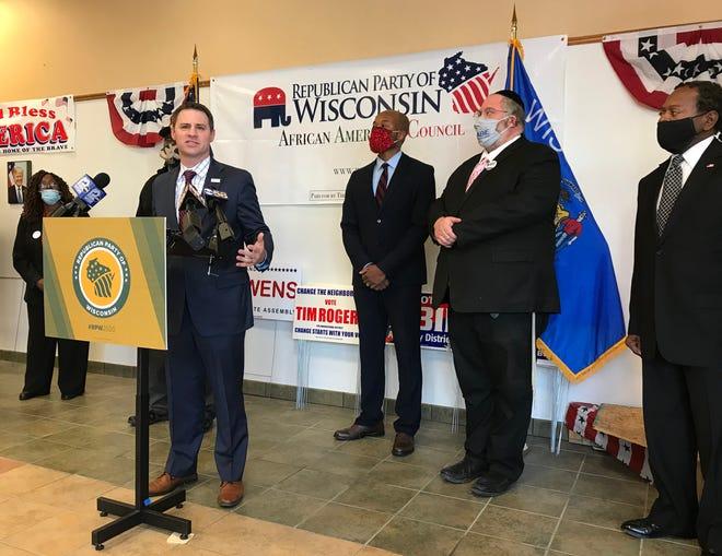 Wisconsin Republican Party's chairman, Andrew Hitt.